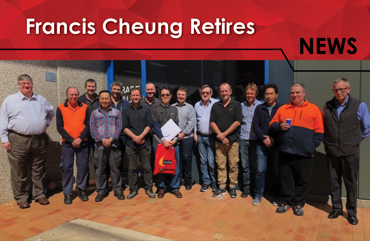 Read more about the article Francis Cheung Retires