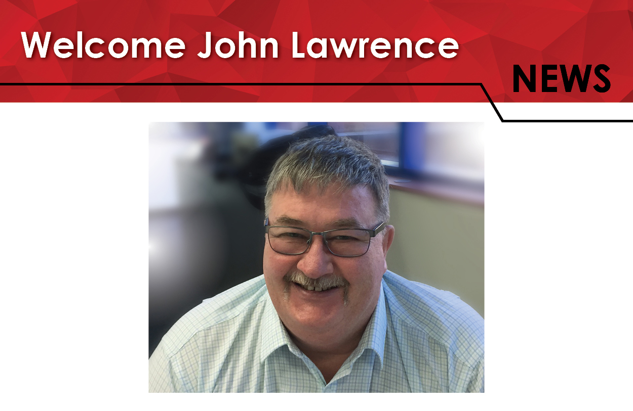 Welcome John Lawrence